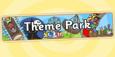 Theme Park Role Play Banner