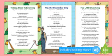 The Elves and the Shoemaker Songs and Rhymes Resource Pack