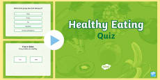 Healthy Eating Quiz PowerPoint Game