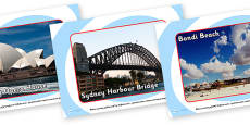 Sydney Tourist Attraction Posters