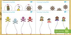 * NEW * Pirate Themed Scissor Skills Activity