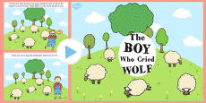 The Boy Who Cried Wolf PowerPoint