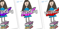 Days of the Week on Matilda to Support Teaching on Matilda