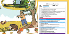 EYFS Autumn Interactive Poster Plan and Resource Pack