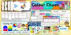 Art: Colour Chaos KS1 Unit Pack