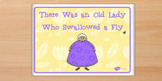 There Was an Old Lady Who Swallowed a Fly eBook