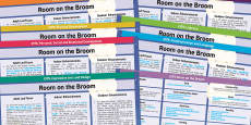 EYFS Lesson Plan and Enhancement Ideas to Support Teaching on Room on the Broom