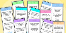 AF Guided Reading Bookmarks