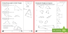 Similarity and Congruence Activity Sheets