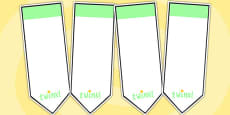 AF2 Guided Reading Editable Bookmarks