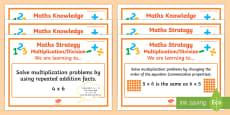 Multiplication/Division Stage 5 WALT Display Posters