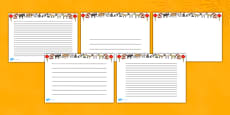 Chinese New Year Page Borders (Landscape)