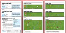 LKS2 Football Skills Pack