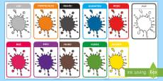 Culori Cartonașe