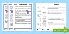 Grade 3-5 Fidget Spinners Differentiated Reading Comprehension Activity