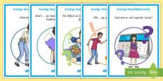 ROI Informal Language Display Posters Gaeilge
