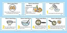 Potato Latkes Recipes Cards