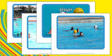 The Olympics Water Polo Display Photos