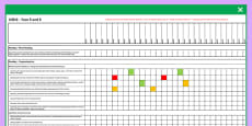 2014 Curriculum UKS2 Years 5 and 6 English Reading Assessment Spreadsheet