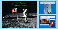 Australia - Apollo 11 Moon Landing Report Information PowerPoint