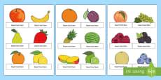 Fruit Salad Editable Self Registration