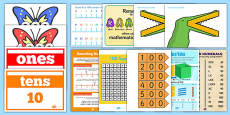 Number and Place Value Display Pack LKS2