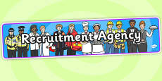 Recruitment Agency Role Play Banner