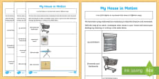 * NEW * Year 1 Direction and Movement Home Learning Challenges