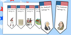 Independence Day Bookmarks