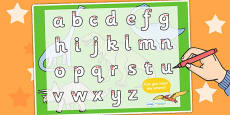 Dinosaur Themed Letter Writing Activity Sheet
