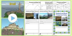 Scotland and Brazil Comparison Pack