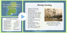The Irish War of Independence Informative PowerPoint