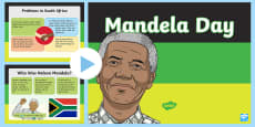 * NEW * Mandela Day Whole School Assembly PowerPoint