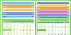 Calendar An școlar 2016-2017