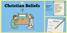 Christian Beliefs Teaching Lesson Pack