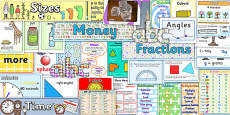 KS2 Maths Display Pack