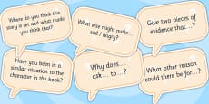 AF7 Guided Reading Question Cards