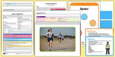 Foundation PE (Reception) - Games - The Olympics Lesson Pack 3: Run, Run as Fast as You Can