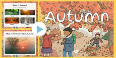 EYFS All About Autumn PowerPoint