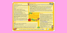 Lesson Plan Ideas KS1 The Very Hungry Caterpillar