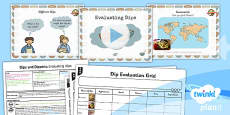 D&T: Dips and Dippers: Evaluating Dips KS1 Lesson Pack 1
