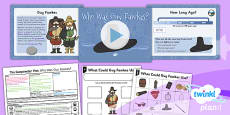 History: The Gunpowder Plot: Who Was Guy Fawkes? KS1 Lesson Pack 1