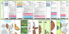 EYFS Adult Input Planning and Resource Pack to Support Teaching on The Gruffalo