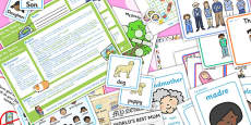 My Family KS1 Lesson Plan Ideas and Resource Pack