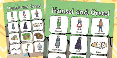 Hansel and Gretel Vocabulary Poster