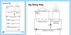 Traditional Tale Story Map Activity Sheet