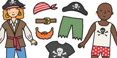 Dress Your Pirate Activity