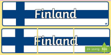 Finland Display Banner