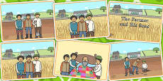 The Farmer and His Sons Story Sequencing
