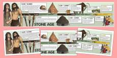 Stone Age Display Timeline